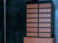 Wood veneer chest of drawers MOMBASA - Zanotta