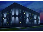 Adjustable aluminium wall lamp CORINTHIA - Goccia Illuminazione