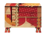 Wooden chest of drawers CALAMOBIO - Zanotta