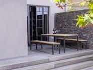 Teak garden bench ADRIA | Garden bench - FISCHER MÖBEL