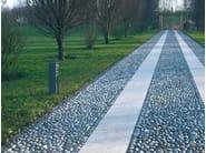 Aluminium bollard light / Power distribution unit SERVER POINT - Goccia Illuminazione