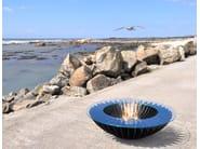 Bioethanol freestanding steel fireplace COSMO 13 - GlammFire
