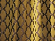 Fabric with graphic pattern for curtains PLEASURE - Zimmer + Rohde