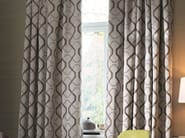 Polyester fabric with graphic pattern for curtains CALVIN - Zimmer + Rohde