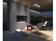 Built-in bioethanol stainless steel fireplace GLAMMBOX 1150 CREA7ION - GlammFire