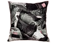 Square fabric cushion AMERICA - LELIEVRE