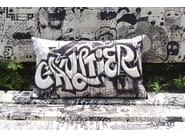 Rectangular fabric cushion RÉVÉLATION - LELIEVRE