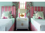 Striped multi-colored upholstery fabric ST. SIMON - Zimmer + Rohde