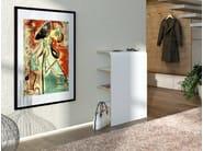 Shoe cabinet / hallway unit PLATZ | Contemporary style shoe cabinet - Tojo Möbel