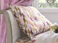 Embroidered upholstery fabric with graphic pattern APRÈS LA PLUIE | Upholstery fabric - Zimmer + Rohde