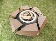Corten™ barbecue / fire baskets STRAVAGANZA - GlammFire