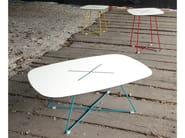 Square coffee table CROSS-QA_QB | Tavolino quadrato - DOMITALIA