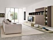 Modular TV wall system Z033-Z034 - Zalf