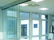 Metal sliding door track Telescopico Sincro A-3000 - Metalglas Bonomi