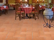 Quarry flooring Pockmarked terracotta - Red - DANILO RAMAZZOTTI ITALIAN HOUSE FLOOR