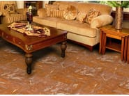 Quarry flooring Red cotto variegated yellow - DANILO RAMAZZOTTI ITALIAN HOUSE FLOOR