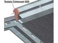 Ventilation grille and part COLMOVENT 600 HEADBOARD - Thermak by MATCO