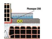 Sound insulation felt PHONOPAV 200 - Thermak by MATCO