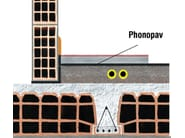 Sound insulation felt PHONOPAV BASE - Thermak by MATCO