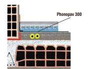 Sound insulation felt PHONOPAV 300 SOFT - Thermak by MATCO