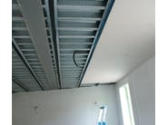 Acoustic gypsum plasterboard CARTONGUM - Thermak by MATCO