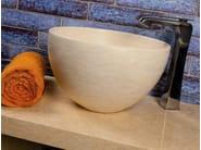 Countertop natural stone washbasin ALFA - DANILO RAMAZZOTTI ITALIAN HOUSE FLOOR