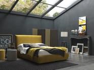 Double bed with high headboard FAIR BIG - Bolzan Letti