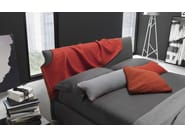 Contemporary style fabric double bed with upholstered headboard FAIR - WELL - Bolzan Letti