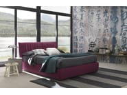 Fabric bed with upholstered headboard LOVELY | Bed - Bolzan Letti