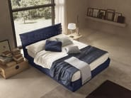 Fabric double bed with upholstered headboard NICE | Bed - Bolzan Letti