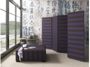 Wooden and fabric screen SIGHTLY - Bolzan Letti