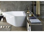 Asymmetric whirlpool bathtub PAIOVA 5 | Bathtub - DURAVIT