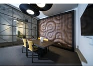Modular wooden 3D Wall Panel BURAN - MOKO