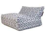 Double upholstered fabric garden armchair SOFA LOUNGE DELUXE - Pusku pusku