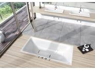 Built-in enamelled steel bathtub SILENIO - Kaldewei Italia