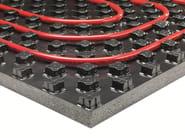 Radiant floor panel VARIONOVA TOTAL BLACK - REHAU