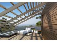Wooden Modular system for raised flooring IPÈ - Italfloor