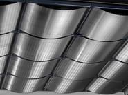 Ceiling tiles / Metal fabric and mesh KONVEX - HAVER & BOECKER OHG