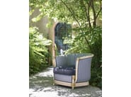 Rattan garden armchair with armrests MARLENE LUXURY | Garden armchair - Dolcefarniente by DFN