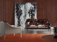 Horse hide armchair with armrests DEZZA | Horse hide armchair - Poltrona Frau