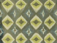 Taffeta fabric with graphic pattern for curtains HALLEY - Dedar