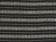 Silk fabric with graphic pattern for curtains TAGOMAGO - Dedar