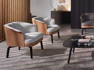 Leather armchair NIVOLA | Armchair - Poltrona Frau