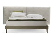 Double bed with upholstered headboard GRANTORINO BED - Poltrona Frau