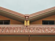 Gutter and downpipe YDORAL® - Elval Colour