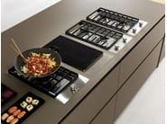 Spruce kitchen with island AXIS 012 | Kitchen with island - Zampieri Cucine