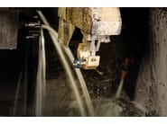LED walkover light stainless steel steplight CNC35 Q - Lombardo