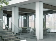 Office partition LIGHT P-050 - Metalglas Bonomi