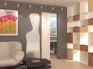 Counter frame for flush-fitting doors for single sliding door LINEAR® SINGLE - PROTEK®