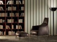Armchair with armrests with headrest ARCHIBALD   Armchair with headrest - Poltrona Frau